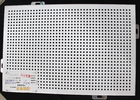 300 x 300 Metal Perforated Ceiling Acoustic Suspended Ceiling Tiles Plate With roll coating