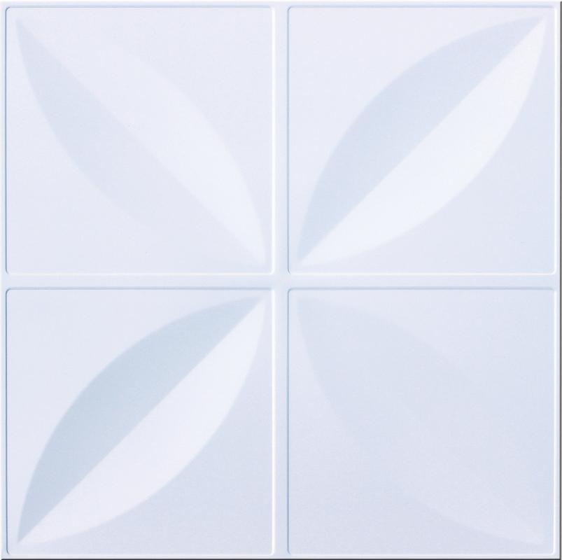 Commercial Artistic Ceiling Tiles Wind Mill 300 x 300mm For Bathrooms Decoration