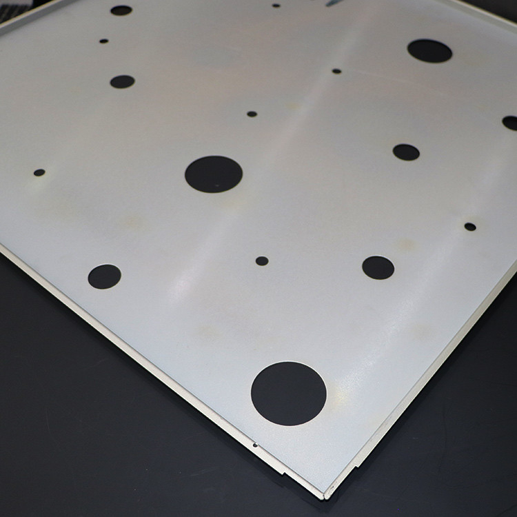 PE Powder Coating Hollow 5005 Grade Lay In Ceiling Tiles 600x1200mm 618x618mm